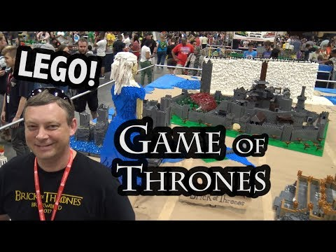 Westeros Created in Huge LEGO Display | Game of Thrones