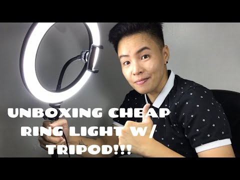 unboxing-|-review-cheapest-ring-light-with-tripod