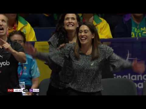 Netball World Cup | Silver Ferns V England Highlights