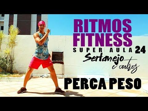 SUPER AULA 24 - 30 Minutos   Ritmos Fitness   SERTANEJO & MAIS   Professor Irtylo Santos