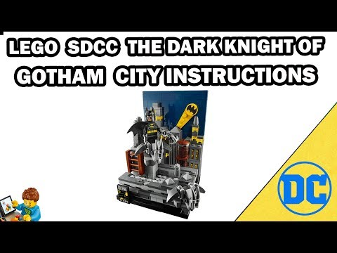 SDCC The Dark Knight of Gotham City - Building Instructions -  DC - LEGO Set 77903