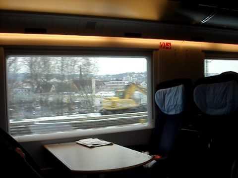 tren de frankfurt a Paris