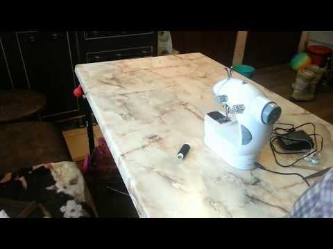 Мини швейная машинка, инструкция (Ming Li Sewing Machine, 4 in 1)
