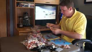 Let's Build Lego Volkswagen T1 Camper Van 10220 -- Unboxing, Time Lapse And Reveiw