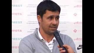 Cristi Negru - antrenor Sporting Roşiori