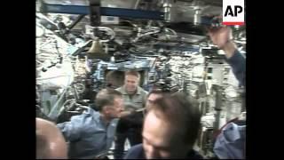 Atlantis astronauts leave space station after 3 arduous spacewalks