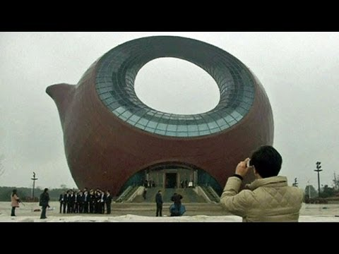 BBC Learning English: Video Words in the News: Teapot tower (12th March 2014)