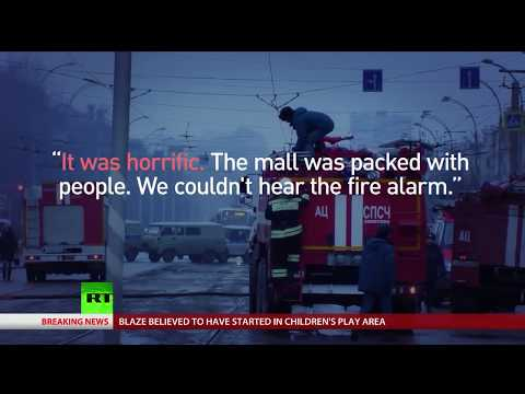 Kemerovo Fire: 64 dead, bodies remain trapped under rubble after shopping mall blaze