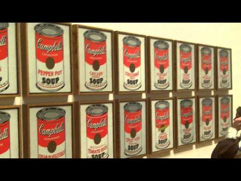 Andy Warhol's Campbells Soup Cans - Up Close and in High Definition!