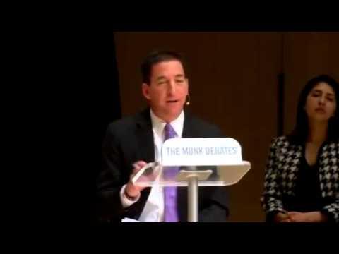 Greenwald/Ohanian vs Hayden/Dershowitz - Munk Debate on State Surveillance