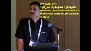 Proposal 12 Self Evolution Process