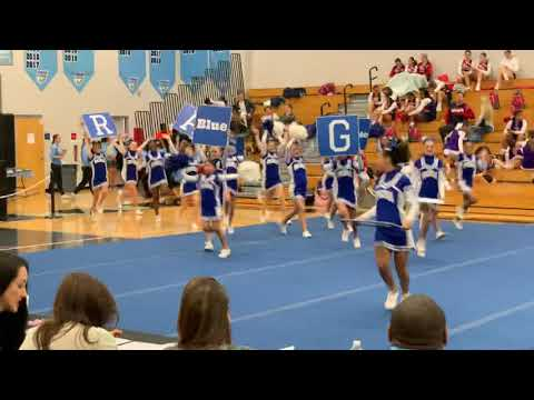 Ridgeview Global Studies Academy Cheerleading 2019 Husky Cheer Challenge
