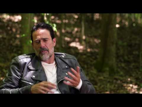 Jeffrey Dean Morgan on swearing as Negan