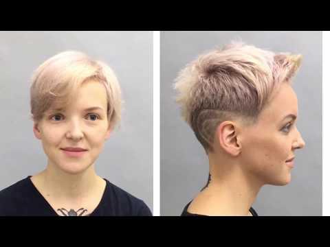 Обучающее видео с пошаговым выполнением стрижки на корткие волосы, Школа ШТЭРН, Екатеринбург