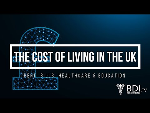 The Cost Of Living In The UK | BDI Resourcing
