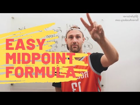 Midpoint Formula   TarverAcademy.com