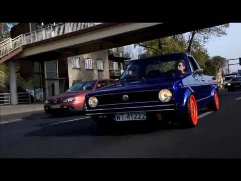 Air Ride - CADDY MK1 VW Rabbit - VolkSWAGen - Canon 5D - Strzelecki Video