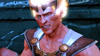 God of War 3 Remastered Hermes Boss Fight HD 60FPS 1080p