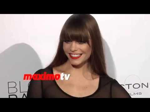 Chloe Hurst attends Blood Ransom Premiere