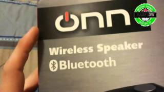 Unboxing Parlante bluetooth Onn [video 31]