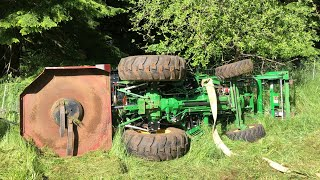 Tractor FAIL! Roll Over Recovery