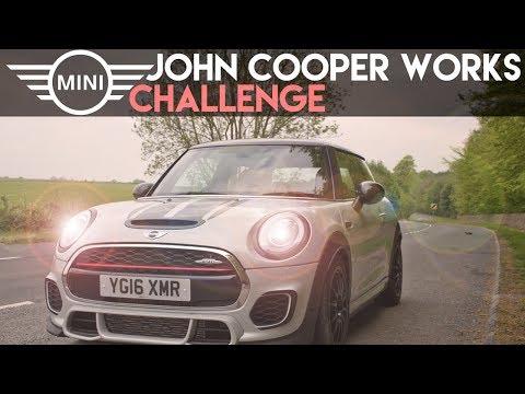 2017 MINI John Cooper Works Challenge - POV Drive   0-60   Acceleration   First Drive