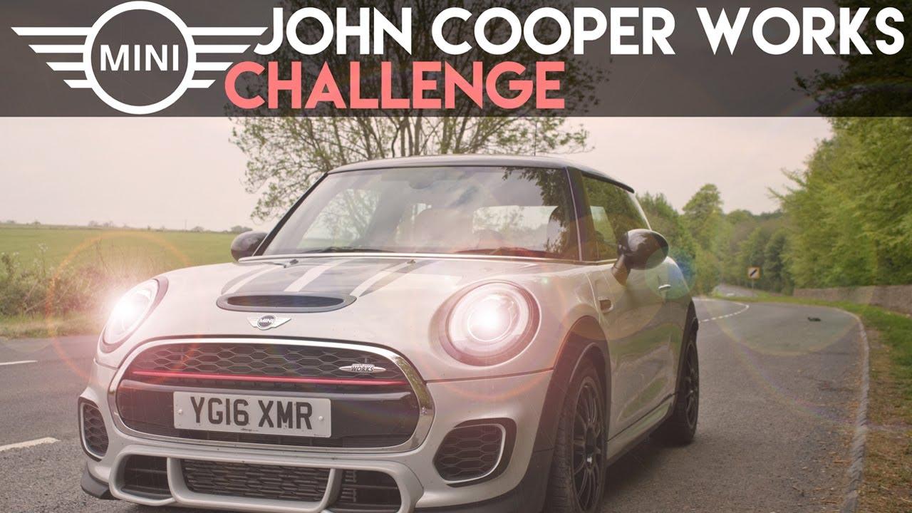 2017 mini john cooper works challenge - pov drive | 0-60
