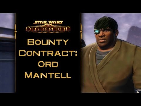 SWTOR: Bounty Contract Ord Mantell [incl. kill & capture ending]