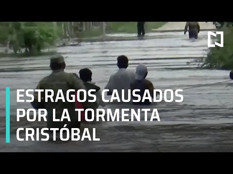 Tormenta tropical 'Cristóbal'