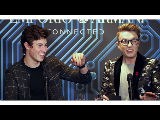 Emporio Armani Connected - London Launch Event with Shawn Mendes