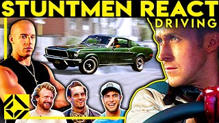 Stuntmen React To Bad & Great Hollywood Driving