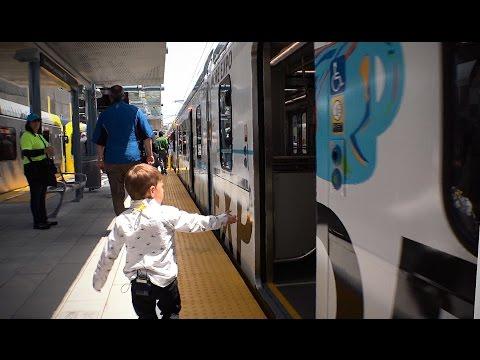 LA Metro Expo Line Santa Monica GRAND OPENING - More Expo Go Metro