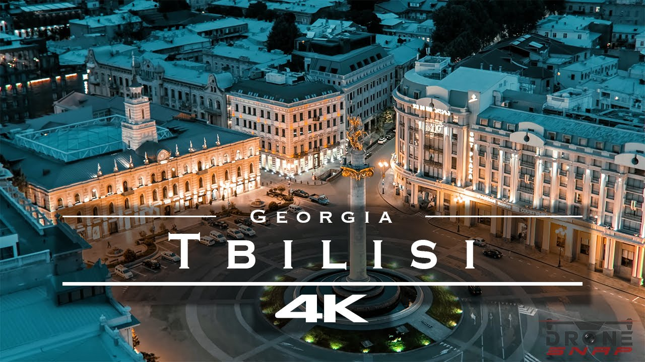 Tbilisi, Georgia 🇬🇪 - by drone [4K]