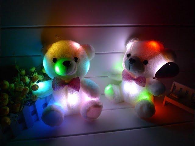 Светящийся плюшевый мишка