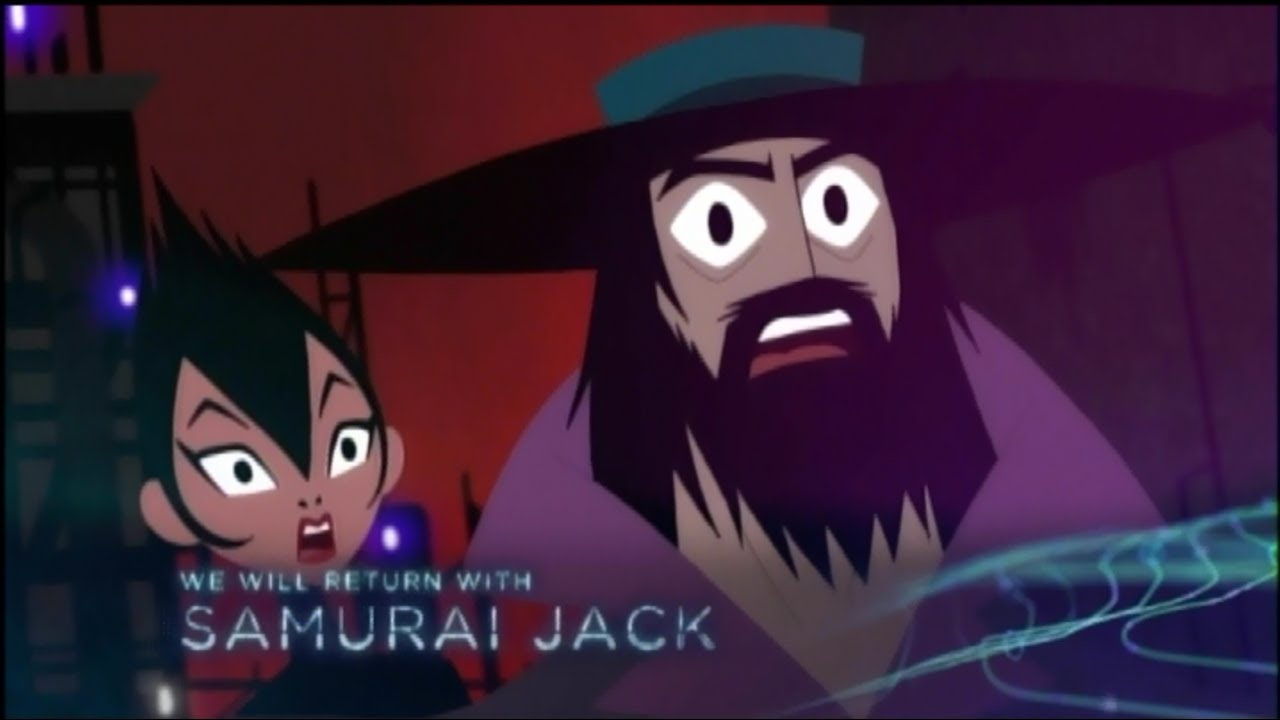 Samurai Jack Marathon Bumpers, Ads, and TOM's Game Review - Toonami