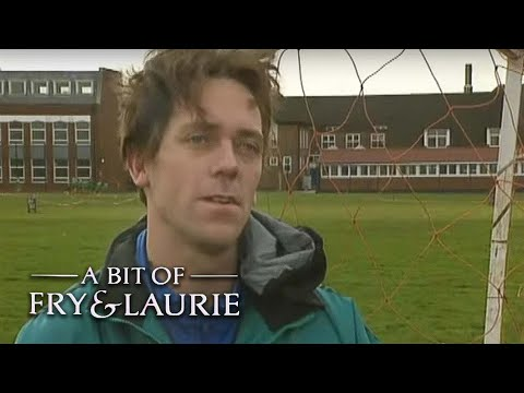 World's Worst Football Coach | A Bit of Fry & Laurie | BBC Comedy Greats