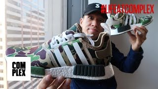 FAKE BAPE NMD GIVEAWAY! | #LIFEATCOMPLEX