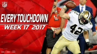 Every Touchdown from Week 17 | 2017 NFL Highlights thumbnail