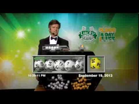 Lucky For Life Numbers Thursday