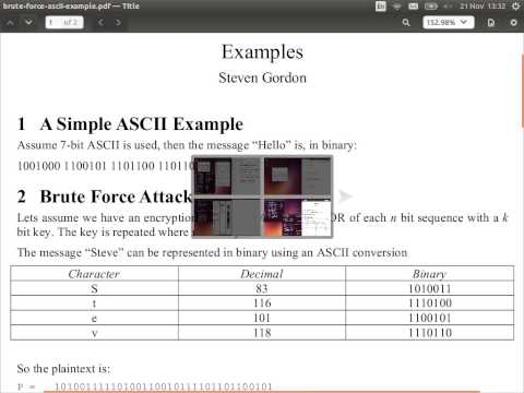 Block Cipher Concepts (CSS322, Lecture 4, 2013)