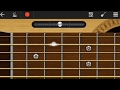 DDLJ Guitar Tune/Tabs on Mobile Guitar App | WALKBAND | Tujhe Dekha To Ye Jana Sanam Android Guitar