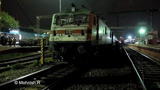 First Time Ever RPM WAP -7 Grand Trunk Express departs Chennai Central!!!!