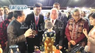 بالفيديو. معرض الصناعات الثقافية الأول- مصر الصين