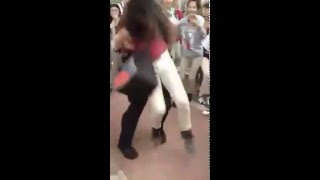 SAISD Police Officer Body Slams 12-Year-Old Middle School Girl On Concrete Floor(An SAISD Police Officer, Joshua Kehm, is seen in this video body slamming a 12-year-old middle school girl, which appears to have knocked her out ..., 2016-04-05T22:34:15.000Z)