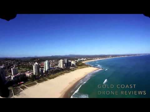 3DX8 Drone Flight Australia Coolangatta Beach