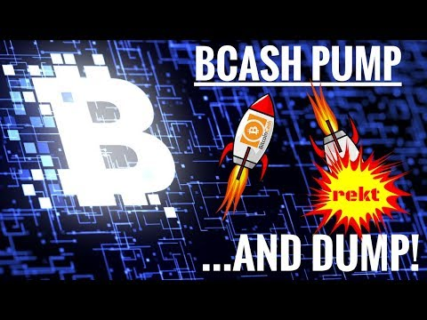 Bitcoin Cash Pump and Dump