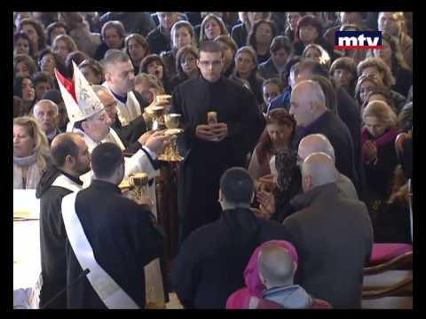 Saint Charbel Mass - Annaya - 22/01/2015
