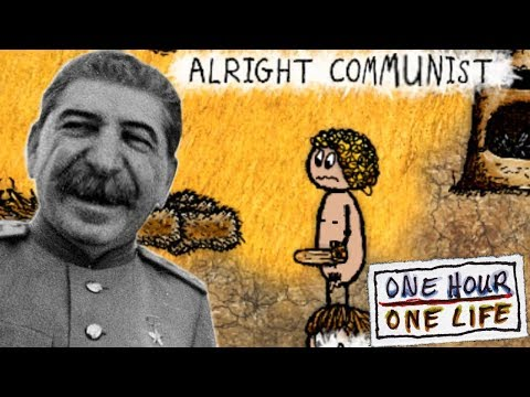 Communist Caveman Incest Starvation Simulator - One Hour One Life