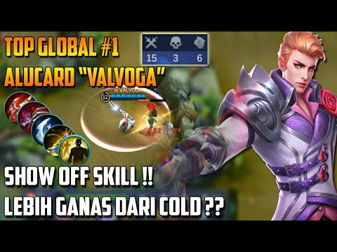 Ketika Top Global #1 Alucard Pamer Skill !! - Lebih Gila&Ganas Dari COLD??