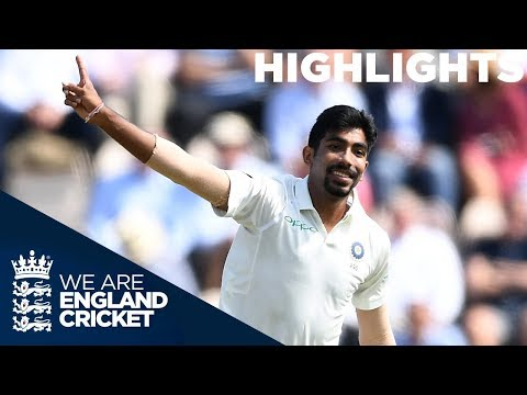 Bumrah Brilliant as Curran Gives England Hope | England v In